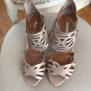 Audrey Brooks Rose Gold Heels